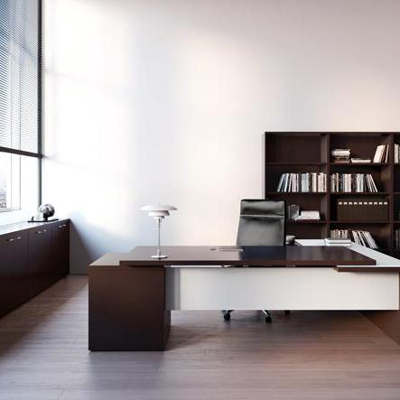 Glsarredoufficio scrivania direzionale con for Scrivania direzionale